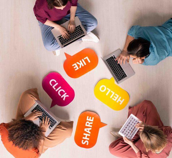 správa sociálnych sietí
